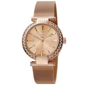 Ferre Milano RG Rose Gold Mesh RGMESH FM1L096M0081 Watch