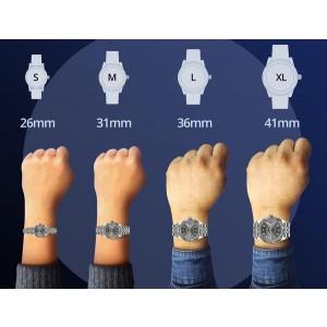 Rolex Datejust 36mm 2-Tone WATCH with 3.10ct Diamond Bezel/Orchid Pink Diamond Roman Dial