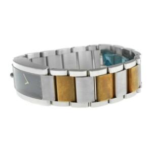 Ladies' Movado Elliptica 84 C1 1481 Stainless Steel Gold Quartz 24MM Watch