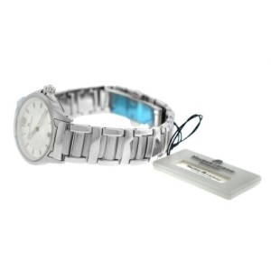 New Lady Maurice Lacroix Miros MI1053-SS002-120 Steel $950 Quartz Watch