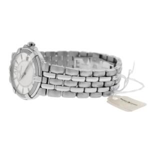 New Men's Maurice Lacroix Calypso CA1107-SS002-110 Steel $1400 Quartz 38MM Watch