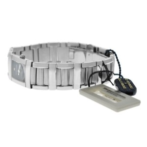 New Lady Maurice Lacroix Miros MI2012-SS002-330 Steel $1200 Quartz 18MM Watch