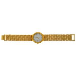 Unisex Wittnauer Cosmopolitan Quartz Date Gold Plated 34MM Watch