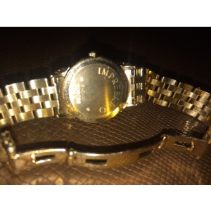 Concord Yellow Gold with Diamond Bezel Watch