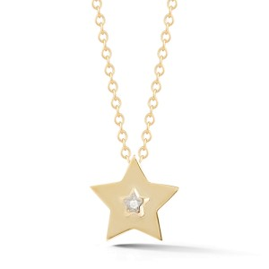 I.Reiss Polish-finished Small Star Pendant