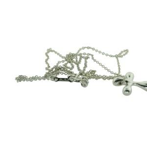 Tiffany & Co. Elsa Peretti Cross Pendant Necklace