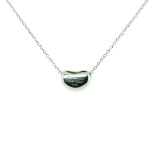 Tiffany Bean Pendant Necklace