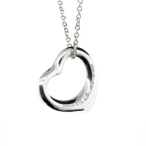 Tiffany & Co. Paloma Picasso Open Heart Necklace