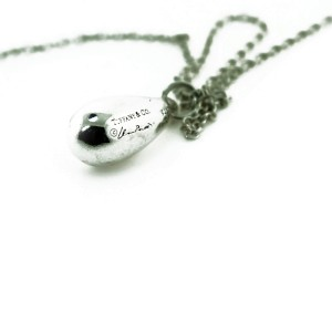 Elsa Peretti Small Tear Drop Necklace