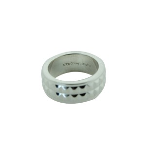 Tiffany Sterling Silver Germany Ring