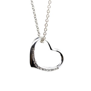 Tiffany & Co. Peretti Open Heart Small Necklace