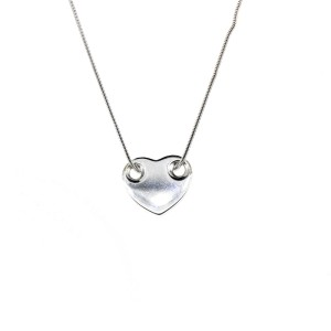 Tiffany & Co. Threaded Heart on Snake Chain