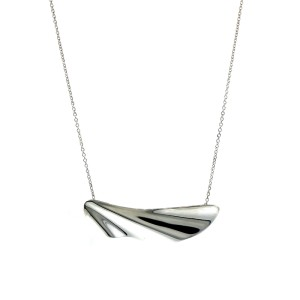 Tiffany & Co. Island Half Wave Necklace