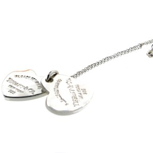 Tiffany & Co. Double Heart Medium Pendant Necklace