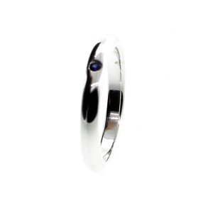 Tiffany & Co. Elsa Peretti Band with Blue Sapphire