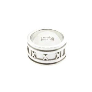 Tiffany & Co. Mens Atlas Wide Ring