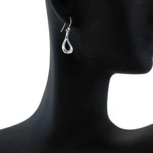 Tiffany & Co. Open Teardrop Earrings