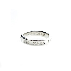 Tiffany & Co. 1837 Silver Ring