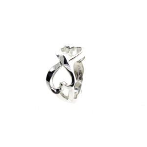 Tiffany & Co. Double Loving Heart Ring