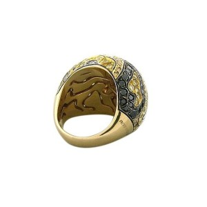 Roberto Coin Diamond 18K Gold Ring US Ring Size : 6.5