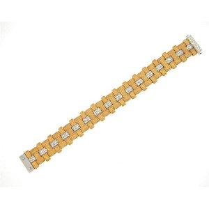 Roberto Coin Diamond 18K Rose Gold Bracelet