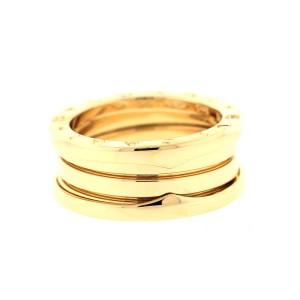 Bulgari B.Zero 1 Yellow Gold Triple Band AN191023 Ring Size 48