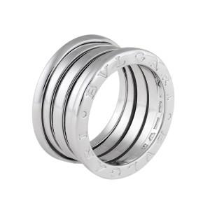 Bulgari B.Zero 1 18K White Gold Ring Size 5