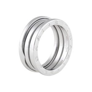 Bulgari B.Zero 1 18K White Gold Ring Size 9
