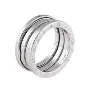 Bulgari B.Zero 1 18K White Gold Ring Size 4