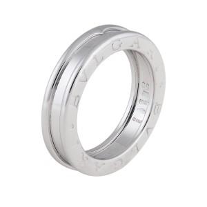 Bulgari B.Zero 1 18K White Gold Ring Size 5.5