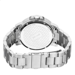 Just Cavalli Men's Rock Silver Dial Stainless Steel Watch