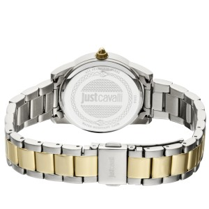 Just Cavalli Women's Relaxed Silver Dial Stainless Steel Watch