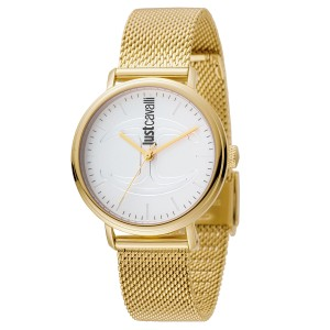 Just Cavalli Women's CFC White Dial Stainless Steel Watch