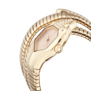 Just Cavalli Women's Glam Chic Rose Gold Dial Stainless Steel Watch