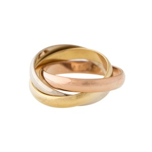 Cartier Trinity Ring Size 52