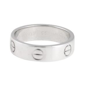 Cartier Platinum Love Ring Size 7.25