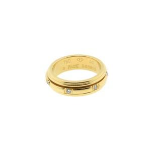 Piaget 18K YG Possession Diamond Ring