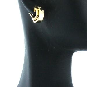 Piaget 18K YG Diamond Earrings