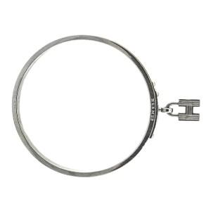 Hermes H Lock Grey Pattern Cuff