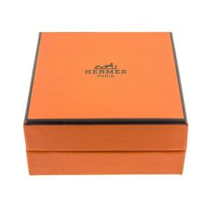 Hermes H Blue Enamel Clic Clac Bracelet