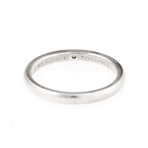 Tiffany & Co. Elsa Peretti Sterling Silver With Diamond Band Ring Size 9