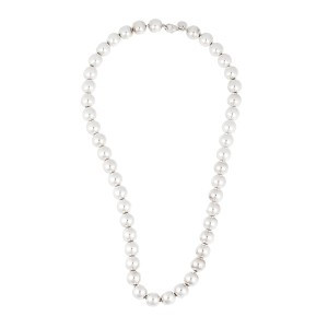 Tiffany Co Sterling Silver Bead Necklace Tiffany Co Buy At Truefacet