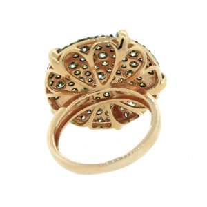 14K Rose Gold Circle Ring