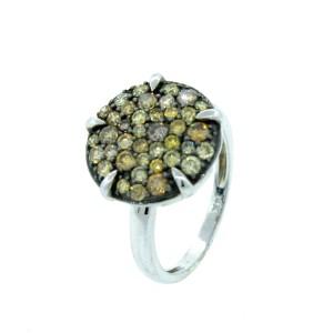14K Rose Gold Circle Ring