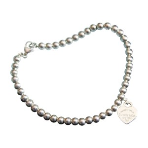 Tiffany & Co. Sterling Silver Heart Bracelet