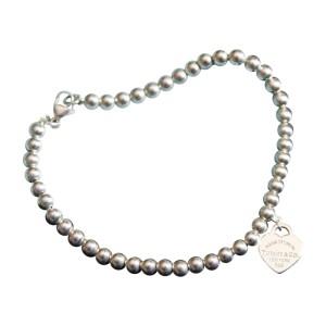 Tiffany & Co. Sterling Silver Heart Bracelet