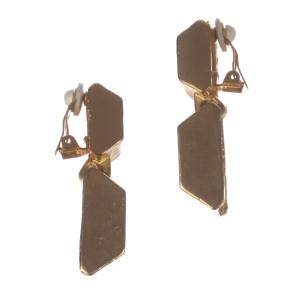 Kenneth Lane Cubist Dangle Earrings