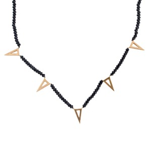 Rina Limor Spike Necklace