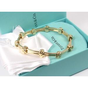 Tiffany & Co. 18K Yellow Gold Love Knot Bracelet