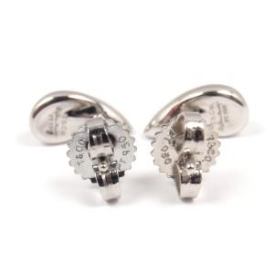 Tiffany & Co. Platinum PT950 Elsa Peretti Teardrop Stud Earrings